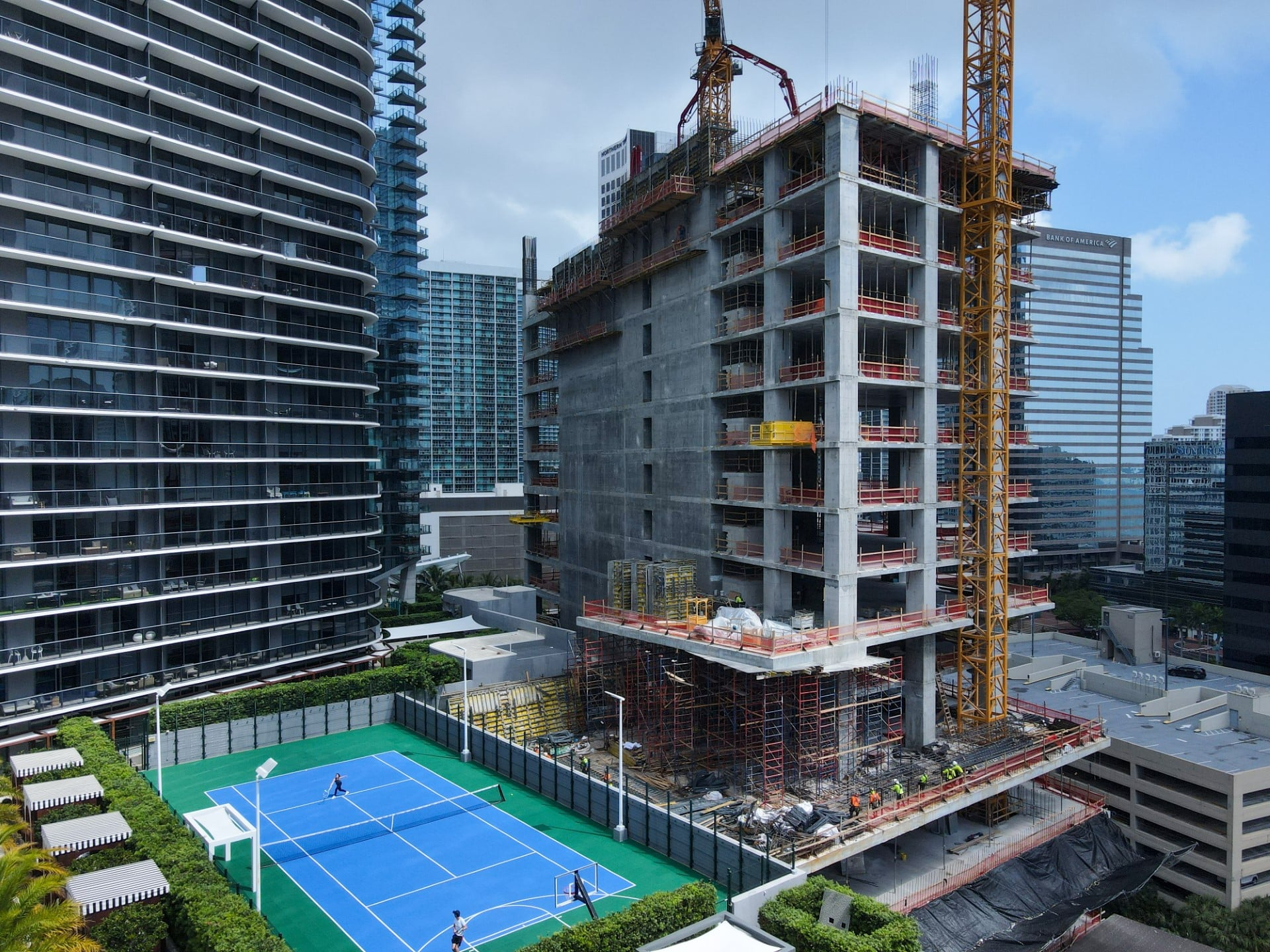57-Story 830 Brickell Approaches The Halfway Mark, With Active Negotiations Underway For Office Space