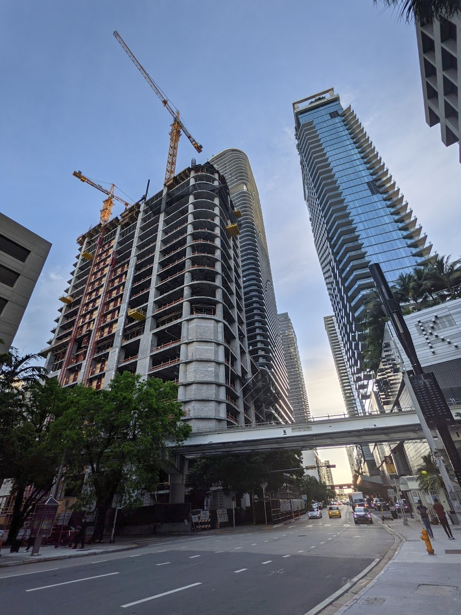 Photos: 830 Brickell Adding One Level Per Week After Private Equity Firm Leases Top Two Floors