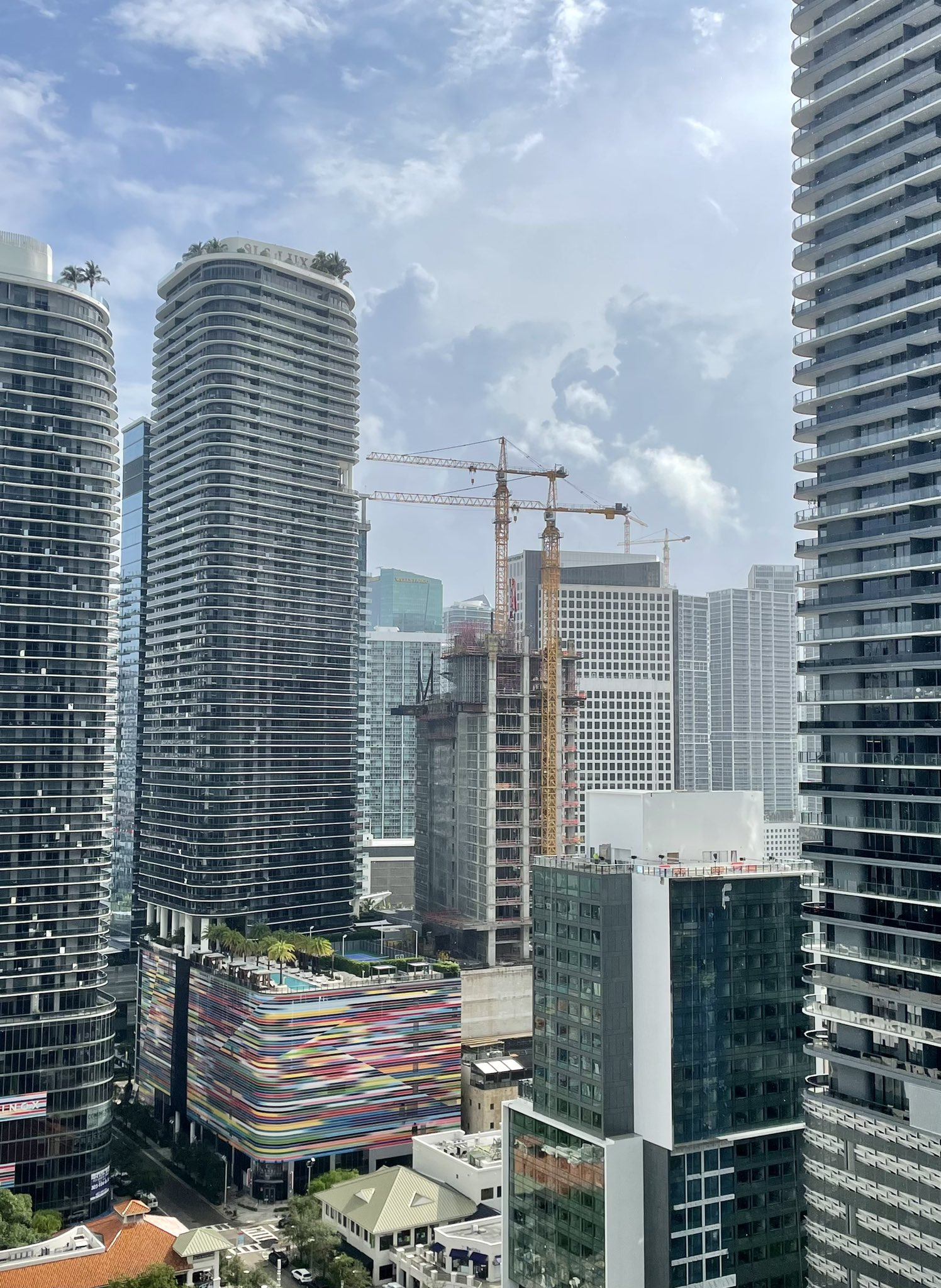 Construction Continues At 830 Brickell, Set To Become Miami's Second Tallest Office Tower